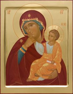Joy & Consolation icon of the Mother of God - Hand-Painted Icon from the…