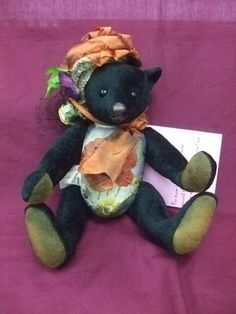 Amy B Portobello Bear Co Lady Raphaella 2009 One of a Kind Bear