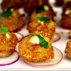This recipe for Bermudian Fish Croquettes is inspired by traditional Bermudian Fish Chowder and will debut in Marcus Samuelsson's latest restaurant, Marcus', set to open in Bermuda end of May.