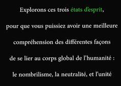 Unité : http://devenez-meilleur.fr/unite/ :) #meilleur #unité #nombrilisme #neutralité