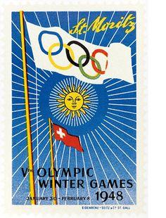 V Winter Olympic Games (St.