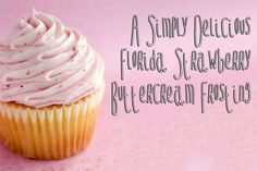 Florida Strawberry Frosting
