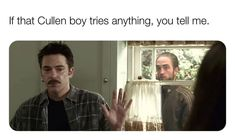 Dank Memes Funny, Stupid Memes, Funny Tweets, Stupid Funny, Crazy Funny, Twilight Jokes, Twilight Saga, Kitchen Memes, Reaction Pictures