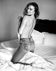 Miranda Kerr, for 7 For All Mankind Jeans