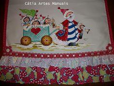 Catia Artes Manuais: PASSO A PASSO PINTURA PAPAI NOEL