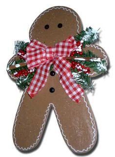 Marsha's Homemade Crafts - cute gingerbread man. Diy