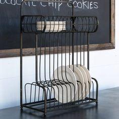 Counter or Hanging Dish Rack