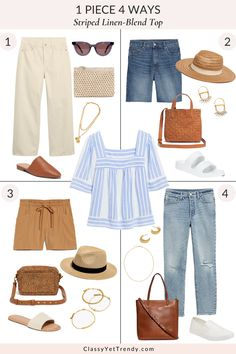 Smart Casual Women, Smart Casual Outfit, Summer Outfits, Cute Outfits, Black Culottes Outfit Summer, Summer Clothes, Classy Yet Trendy, Wide Leg Jeans, Denim Jeans