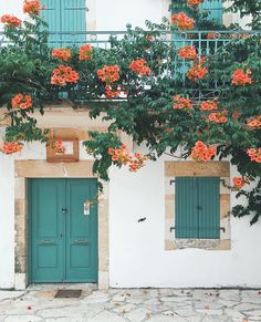 Beautiful doors and flowers, travel wanderlust inspiration Flower Aesthetic, Aesthetic Photo, Travel Aesthetic, Aesthetic Pictures, Orange Aesthetic, Aesthetic Drawings, Aesthetic Women, Aesthetic Style, Summer Aesthetic