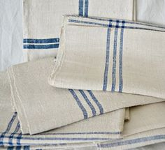 All I want are striped linen napkins.