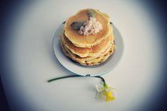 Pancakes à la chair de crabe.