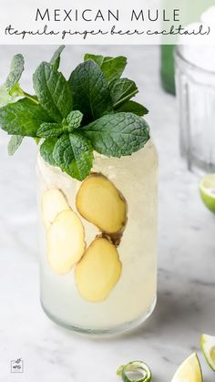 This Mexican mule cocktail recipe is extra gingery and crisp, with fresh lime and the distinct agave complexity that comes from good tequila. It's light, clean, and super refreshing– the perfect drink for a hot summer day. Plus, it's made in the glass, so it's easy to prepare. Learn how to make it today! #cocktails #tequiladrinks #summerdrinks Cocktail Desserts, Fun Cocktails, Summer Drinks, Fun Drinks, Cocktail Recipes, Beverages, Best Tequila, Tequila Drinks, Mexican Mule Recipe