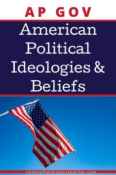 Take your AP Government class a step up this year with this ideology and belief unit! Included are comprehensive and rigorous lessons that will help your students' critical thinking skills about their political ideology, along with the American beliefs in general.
