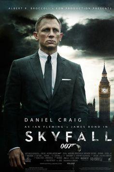 JAMES BOND 007 SKYFALL Poster. 12x18 20x30 24x36inch 10