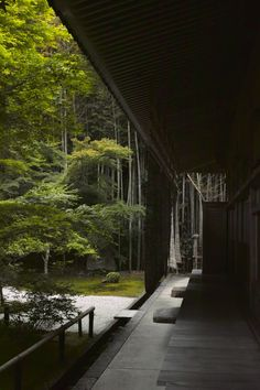 "iesuuyr: ""by Yusuke Okaue "" Japanese Bamboo, Japanese House, Japanese Style, Travel Around The World, Around The Worlds, Japanese Travel, Asian Architecture, Unusual Buildings, Japanese Aesthetic"