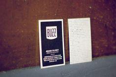 Buzz Studios Business Cards