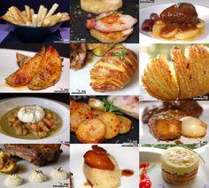 Doce recetas con patatas para guarnición