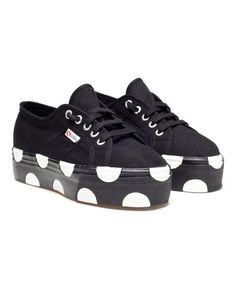Polka Dot Platform Trainers by Superga x House of Holland.