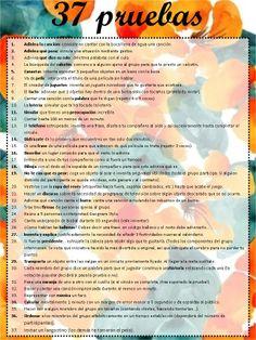 37 pruebas divertidas pruebas low cost! http://laprimeradetodas.blogspot.com.es/2013/12/37-pruebas-para-pasartelo-en-grande.html?zx=5eb5917c127c0069