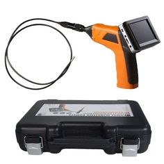 4.5mm Waterproof LED Lens Plumbing Sewer Inspection Camera with Detachable Wireless 3.5″ TFT-LCD Monitor Borescope Endoscope for Surveying Pipes or Small Hard-to-reach Places, Equipment, Furnishing Installation