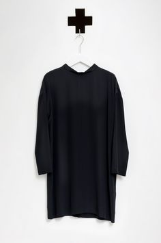 FORTE_FORTE / 4106 MY DRESS NERO AW 15-16 / ordershop@humanoid.nl
