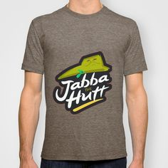 Jabba the hutt T-shirt by kxyzle - $22.00