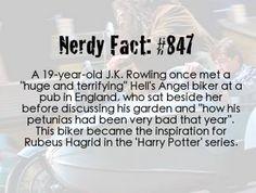 Hagrid is real!