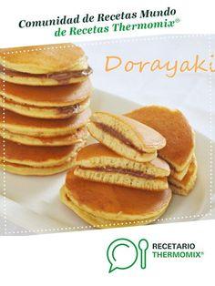 Dorayakis de Doraimon. por pilarsanama. La receta de Thermomix<sup>®</sup> se encuentra en la categoría Dulces y postres en www.recetario.es, de Thermomix<sup>®</sup> Pancakes, Breakfast Recipes, Birthdays, Food, Sweet Recipes, Afternoon Snacks, Food Cakes, Toddler Meals, Food Processor
