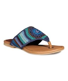 Take a look at this Neptune Stripe Shannon Sandal - Women by The Sak on #zulily today! $20 !!