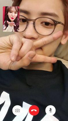 Wenyeol again~✨ Exo Red Velvet, Wendy Red Velvet, Park Chanyeol, Baekhyun, Bigbang Yg, Wendy Rv, Kpop Couples, Korean Couple, Bts And Exo