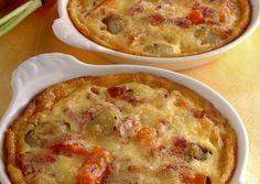 Clafoutis aux légumes Weight Watchers, un clafoutis salé, délicieux, facile et simple, idéal à préparer pour un repas d'été.
