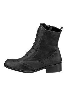 Produkttyp , Stiefelette, |Verschlussart , Reißverschluss, |Laufsohle , Synthetiklaufsohle, |Schuhhöhe , Knöchelhoch (high), |Obermaterial , Leder, | ...