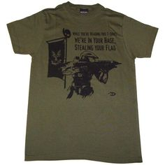 Halo 3 Were in Your Base Stealing Your Flag Mens Slim Fit T-Shirt X-Large
