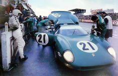 Le Mans 1968.Ferrari 250LM . David Piper / Richard Attwood.
