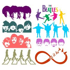 Beatles Cuttable Designs