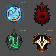 Game Ui Design, Icon Design, Character Concept, Concept Art, Starcraft 2, Cool Monsters, Anime Weapons, Stars Craft, Game Icon