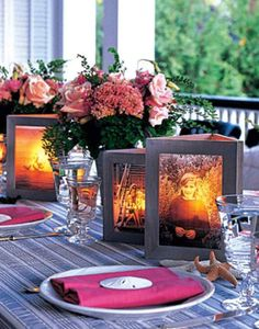 Picture Frame Luminaries Capture Your Memories | The WHOot