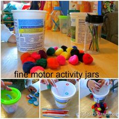recycling and fine motor