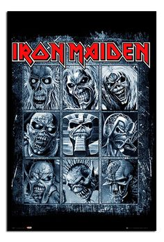 Iron Maiden Eddies Poster | iPosters | iPosters