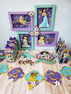Rapunzel Birthday Party, 2nd Birthday, Birthday Parties, Birthday Party Decorations, Party Themes, Jasmin Party, Diy Cake Topper, Birthday Supplies, Party Places