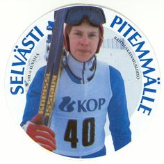 Matti Nykänen by Raittiuskasvatusliitto Good Old Times, My Childhood Memories, Vintage Ads, Finland, Athlete, Nostalgia, Old Things, Jokes, Lol