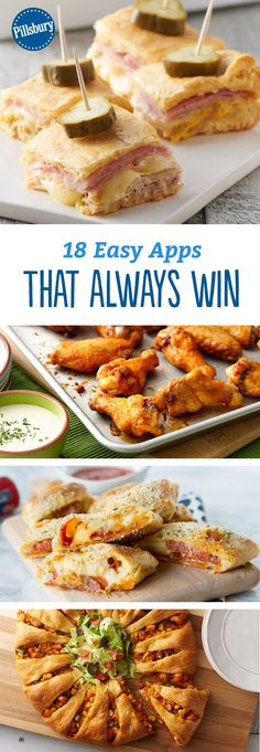 18 Easy Apps That Always Win - Game day or any old day, these appetizers are simply the best.