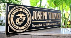 Military Sign-Navy Sign-Marines Sign-US Army-US Air Force-Military sign-Personalized wooden sign-Veterans Day Personalized Wooden Signs, Custom Wood Signs, Military Signs, Veterans Day Gifts, Award Plaques, Us Air Force, Family Signs, Painted Signs, Marines