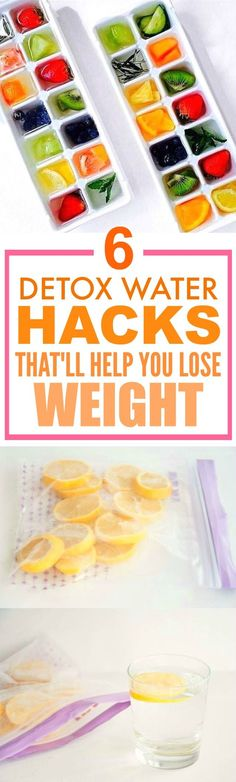 These 6 water detox hacks are THE BEST! I'm so happy I found this AMAZING post! I've tried a couple of these and I've definitely lost weight... ALREADY! I can't believe how easy these are! SO pinning for later!