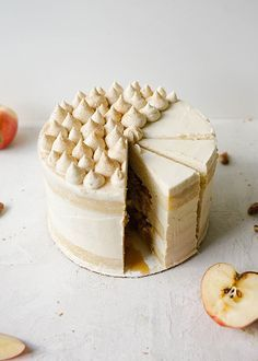 Maple Apple Cake Recipe By The Wood and Spoon Blog