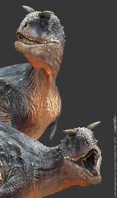 New Carnotaurus Preview by *damir-g-martin These guys look like the demon dogs from Ghostbusters.