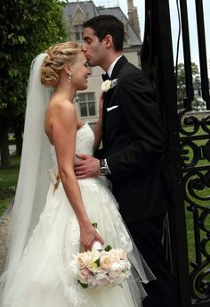 Newport wedding photography by Kate Whitney Lucey Photography, wedding updo, bridal hairstyles, updo