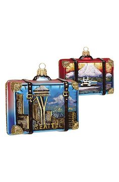 Nordstrom at Home Travel Suitcase Ornament