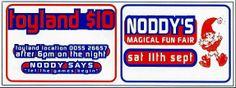 Toyland : Saturday, 11 September 1993