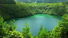 Lagoa de Santiago, ilha de S.Miguel, Açores By Gil M. Veríssimo
